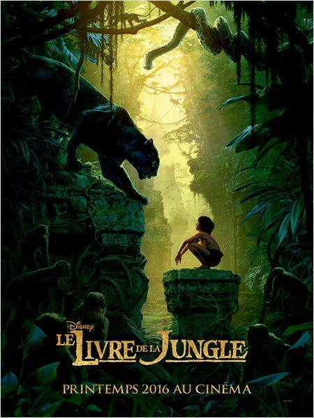 Livre de la Jungle affiche