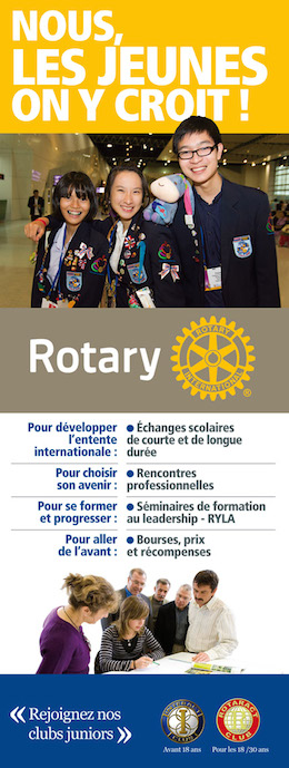 Rotary jeunes affiche