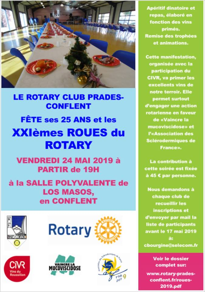 Roues du Rotary 2019